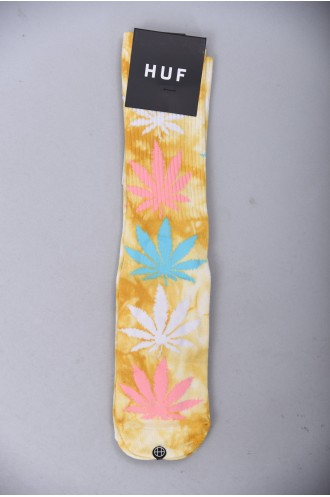 Chaussettes Huf Strain Plantlife Crew