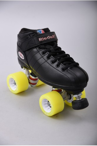 Patins Complets Derby Riedell R3 Derby Pop Yellow