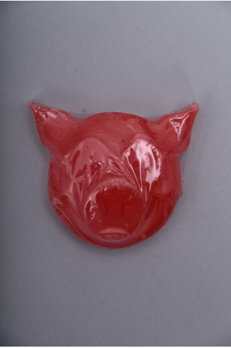 Pig Pig Wax Head Red