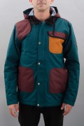 Veste ski / snowboard homme 686-Forest Bailey Cosmic Happy Insulated-FW16/17