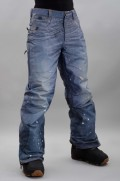 Pantalon ski / snowboard homme 686-Parklan Deconstructed Denim-FW16/17