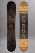 Planche de snowboard homme Arbor-Element Black-FW17/18