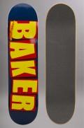 Plateau de skateboard Baker-Logo Nvy Ylw-2016