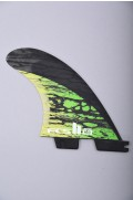 Fcs-2 Mb Pc Carbon Green Medium Tri Retail Fins-2018
