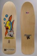 Plateau de skateboard H-street-Eddie El Gato Elguera Cat & Fish Reissue-2016