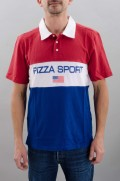 Polo manches courtes homme Pizza skateboard-Pizza Sport-SS16