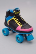 Rollers quad Rookie-Hype Hi Hop Trainer Black/blue/pink/yellow-2016