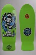 Plateau de skateboard Santa cruz-Rob Target 3 Green Fluo Reissue-2016