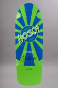 Plateau de skateboard Sims-Hosoi Signed Green/blue-INTP