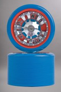 Skubs-Spinner Blue/red X8 63mm/88a-INTP