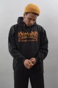 Sweat-shirt à capuche homme Thrasher-Richter-FW17/18