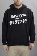 Sweat-shirt à capuche homme Thrasher-Skate & Destroy-SS16