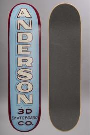 Plateau de skateboard 3d-Anderson Forrest Sign-INTP