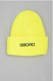 5boro-Beanie Logo High Viz-SPRING18