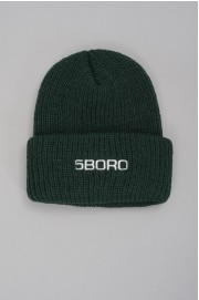 5boro-Beanie Logo Spruce-SPRING18