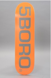 Plateau de skateboard 5boro-Ext Logo Orange Reflective 8.5 X 32-2018