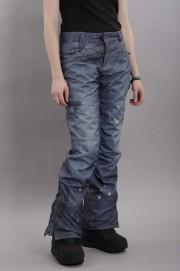 Pantalon ski / snowboard femme 686-Deconstructed Denim-FW17/18