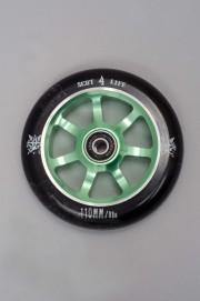 841-Roue Delta 110 Green Avec Roulements Abec 7-INTP