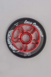 841-Roue Enzo 100 Red 100mm/88a-INTP
