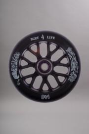 841-Roue Skully Black/black Vendue Avec Roulements Abec 9-INTP