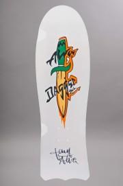 Plateau de skateboard Alva-Daggers White Signed Edition Limitee-INTP