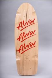 Plateau de skateboard Alva-Tri-logo Re-issue Red-2018