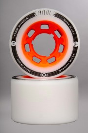 Atom-Boom Slim White/orange 59mm-94a-2016