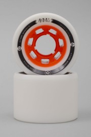 Atom-Boom Solid White/orange 62mm-94a-2017