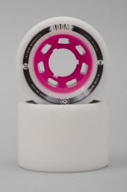 Atom-Boom Solid White/pink  62mm-88a-2017