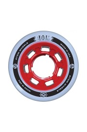 Atom-Boom Solid White/red 62mm-2017