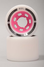 Atom-Boom White/pink 59mm-88a-2016