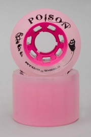 Atom-Poison 62mm-84a Pink Vendues Par 4-INTP