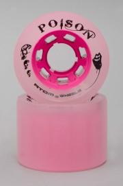 Atom-Poison 62mm-84a Pink Vendues Par 4-INTP