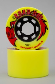Atom-Road Hog Yellow/black 66mm-78a-2017