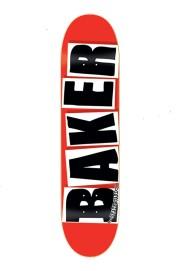 Plateau de skateboard Baker-Brand Logo 8.3875-2018