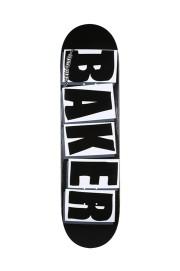 Plateau de skateboard Baker-Brand Logo Blk Wht 8.0-2018