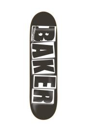 Plateau de skateboard Baker-Brand Logo Blk Wht 8.25-2018