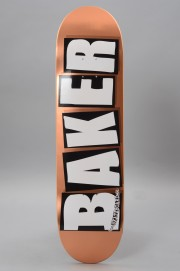 Plateau de skateboard Baker-Brand Logo Copper Foil-2017