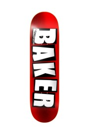 Plateau de skateboard Baker-Brand Logo Red Foil 8.0-2018