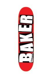 Plateau de skateboard Baker-Brand Logo White-2017