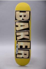 Plateau de skateboard Baker-Brand Name Glitter Ar Gold 8.1-2018