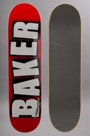Plateau de skateboard Baker-Logo White-2016