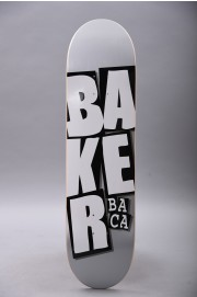 Plateau de skateboard Baker-Stacked Name Sb Grey 8.25-2018