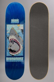 Plateau de skateboard Birdhouse-Thirsty Jaws Pro Blue-2016