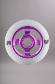 Blazer pro-Blazer Roue Spoke White/purple 100 Mm/88a Vendu A L unite-INTP