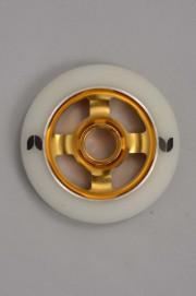 Blazer pro-Blazer Roue Spoked White/gold 100mm/88a-INTP
