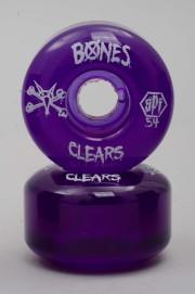 Bones-Clear Purple P2 104a Skatepark Formula-2016