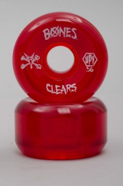 Bones-Clear Red P5 104a Skatepark Formula-2016