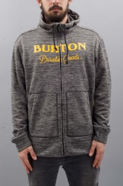Sweat-shirt zip capuche homme Burton-Oak-SPRING17