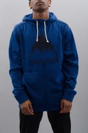 Sweat-shirt zip capuche homme Burton-Oak-SPRING17